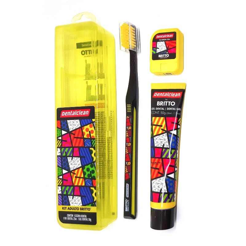 Kit Escova Dental Romero Britto