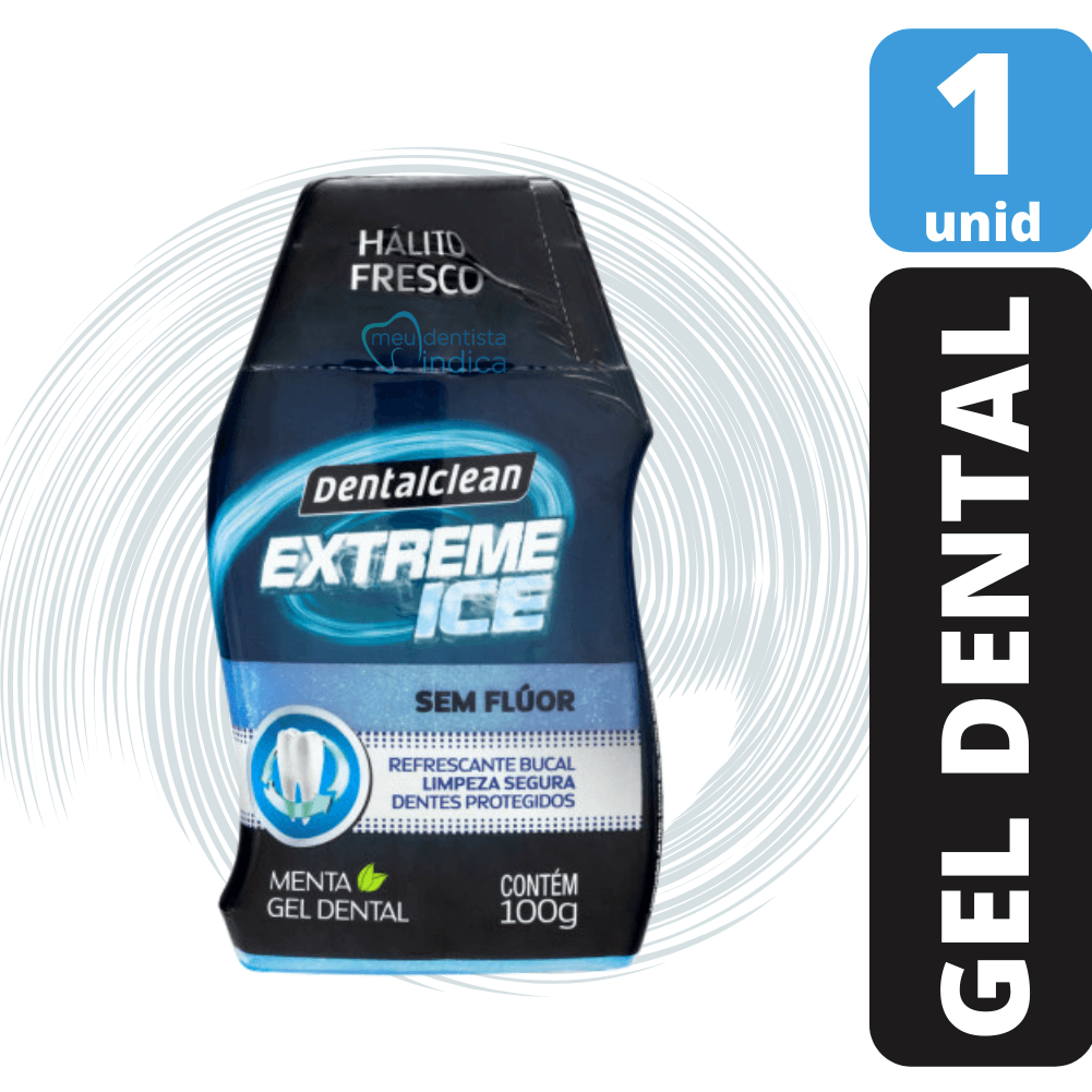 Kit Extreme Ice Sem Flúor (gel dental + 2 escovas)