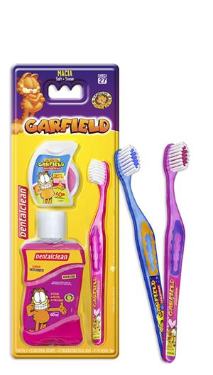 Kit Garfield (com escova azul)
