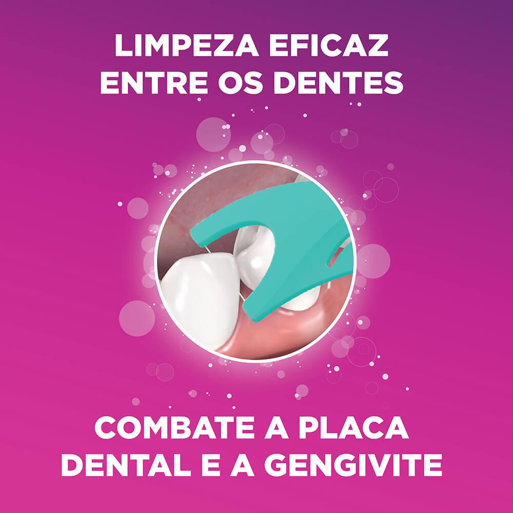 Kit Infantil Trolls Flossers   GUM®   Flosser Dental Infantil   100 unidades + Copo