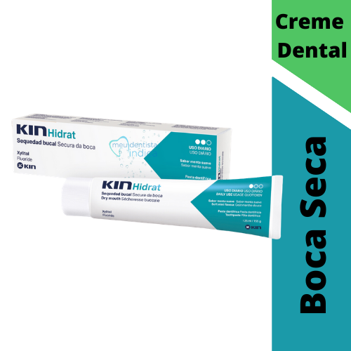 Kit KIN Hidrat Pasta Dentifrícia - 3 unidades
