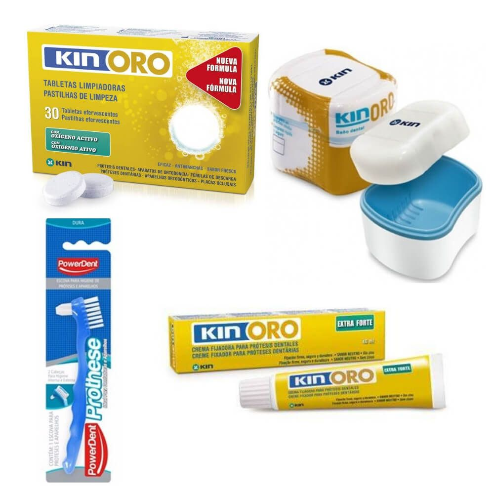 KIT -  KIN ORO para Prótese Dental