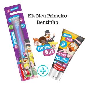 Kit Meu Primeiro Dentinho - Mundo Bita