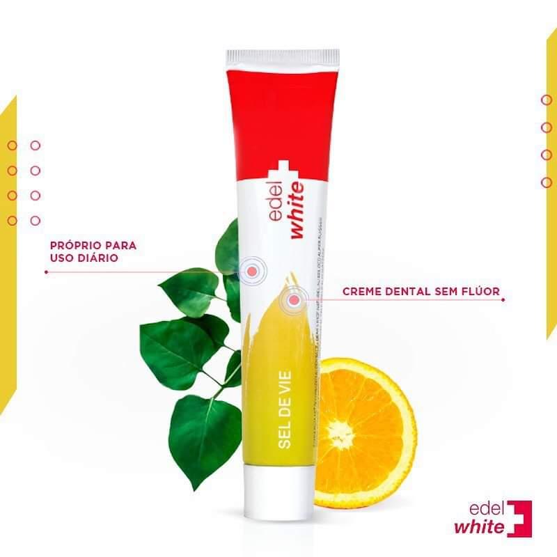 Kit Sustentável | Creme Dental Sel de Vie + 3 Escovas Dentais EcoCare