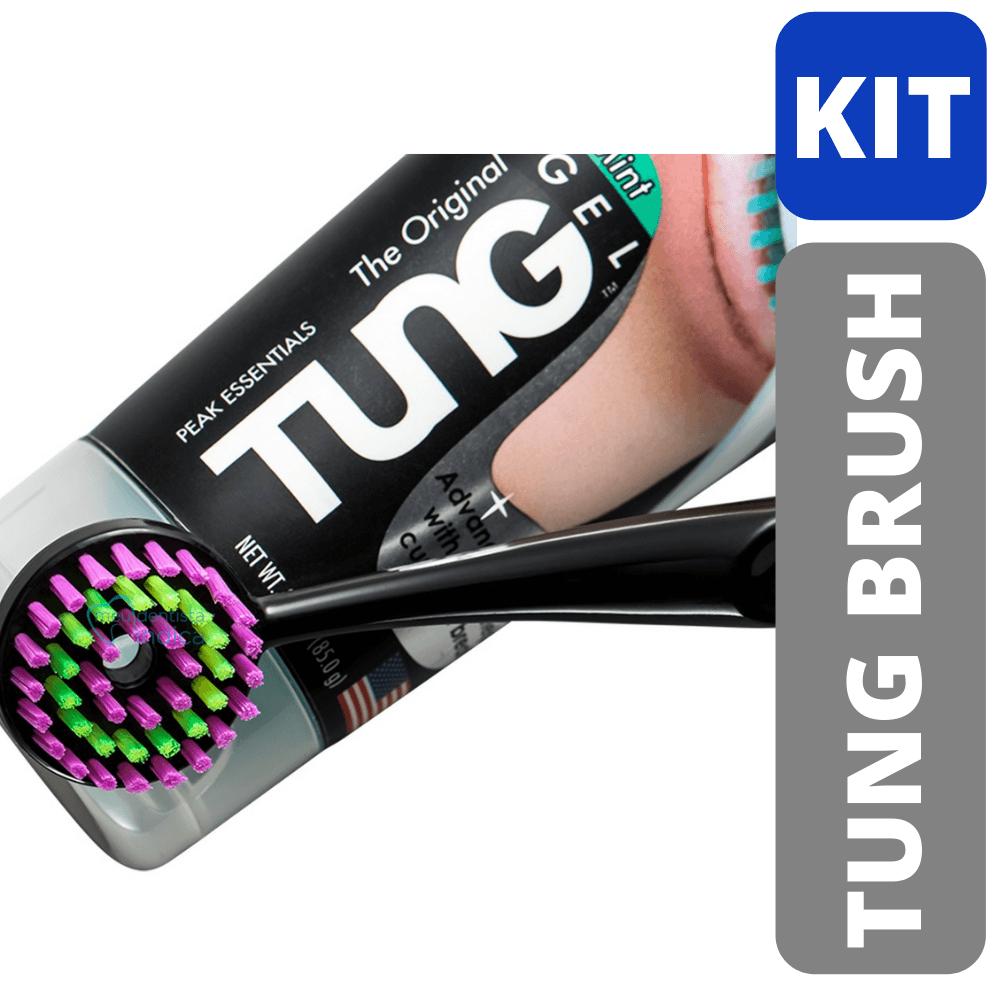 KIT TUNG Limpeza de Língua (Escova + Gel)