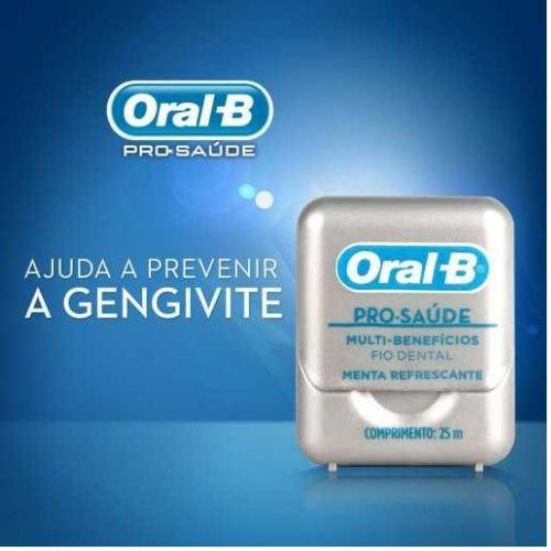 ORAL B -  3X Fio Dental Pro-Saúde 25m