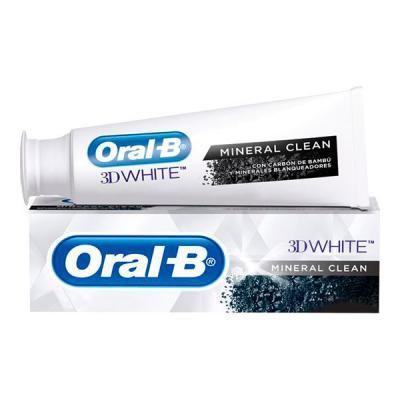 ORAL B - Creme Dental 3D White Mineral Clean 102grs