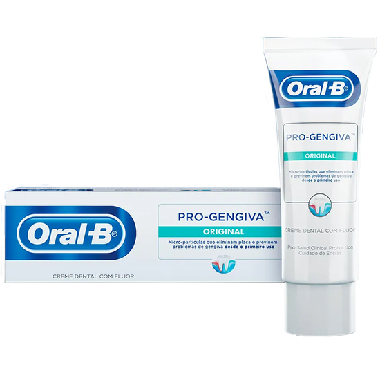ORAL B - Creme Dental Pro-Gengiva Original 90 grs