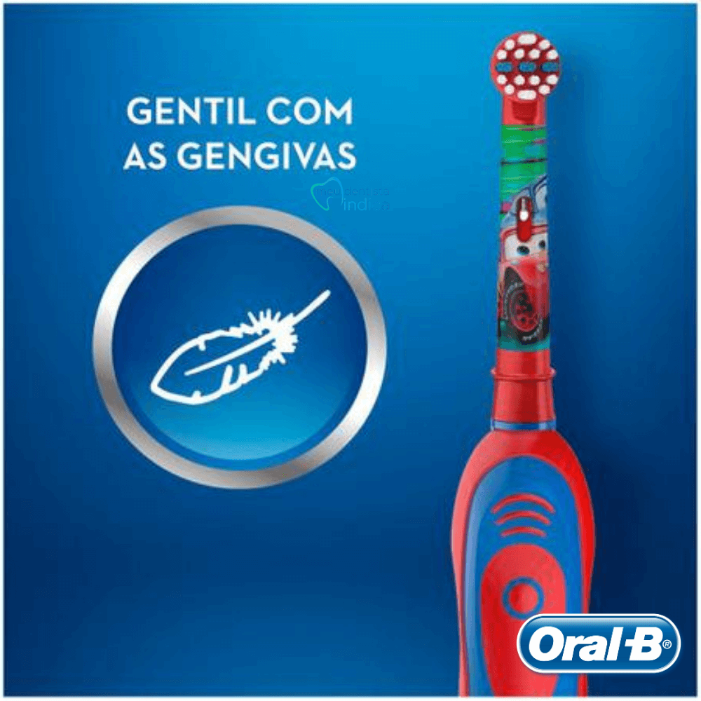 Oral B - Escova Dental Elétrica Infantil Carros