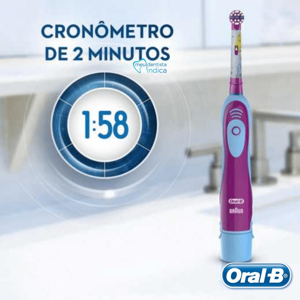 Oral B - Escova Elétrica Infantil Princesas