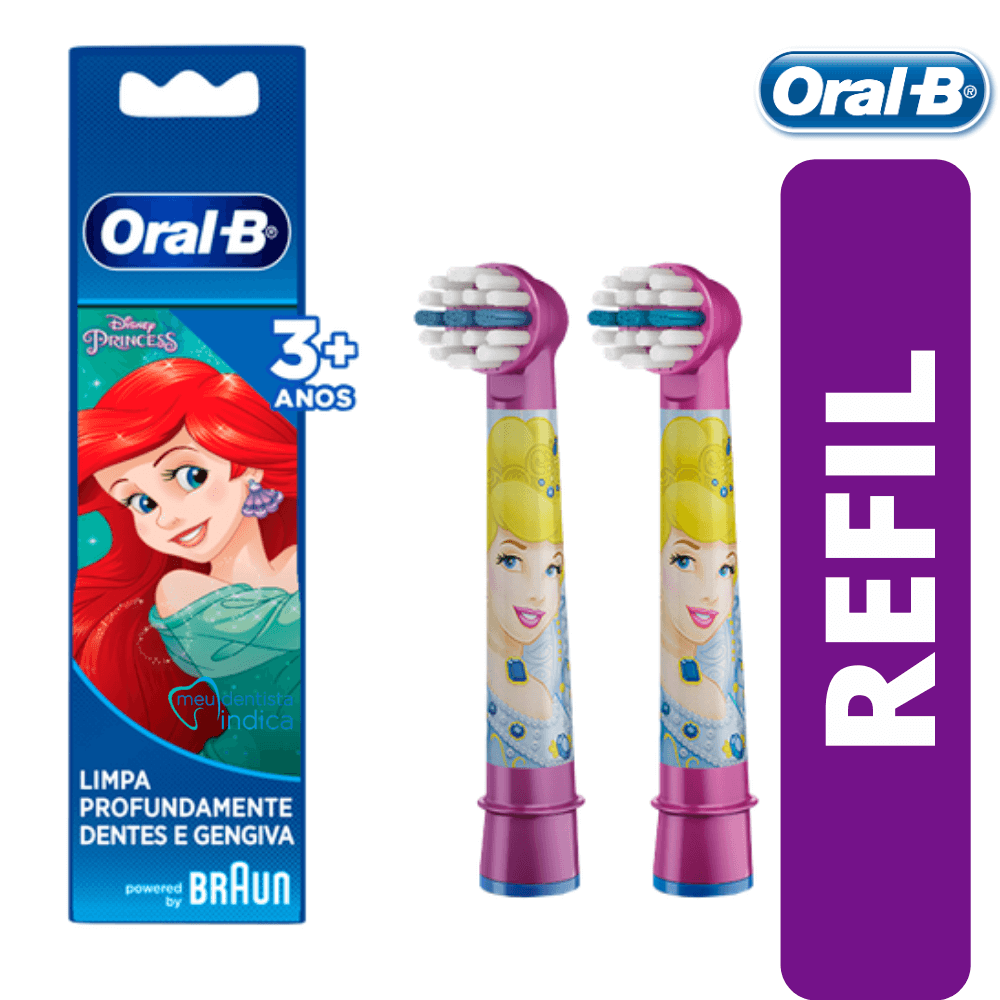 Refil Escova Elétrica Infantil Oral-B Princesas (2UN)