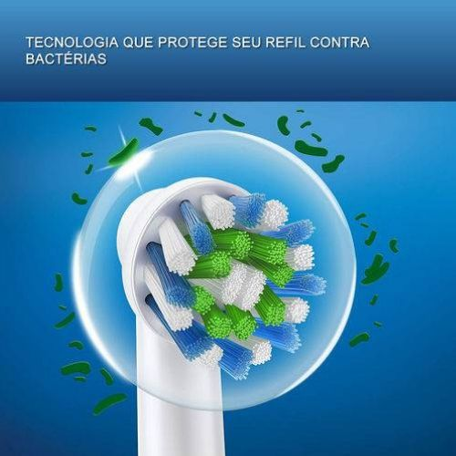 Refil Escova de Dente Elétrica Oral B - CrossAction 2 unidades