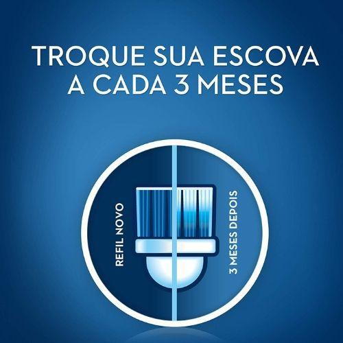 Refil Escova de Dente Elétrica Oral B - FlossAction 2 unidades