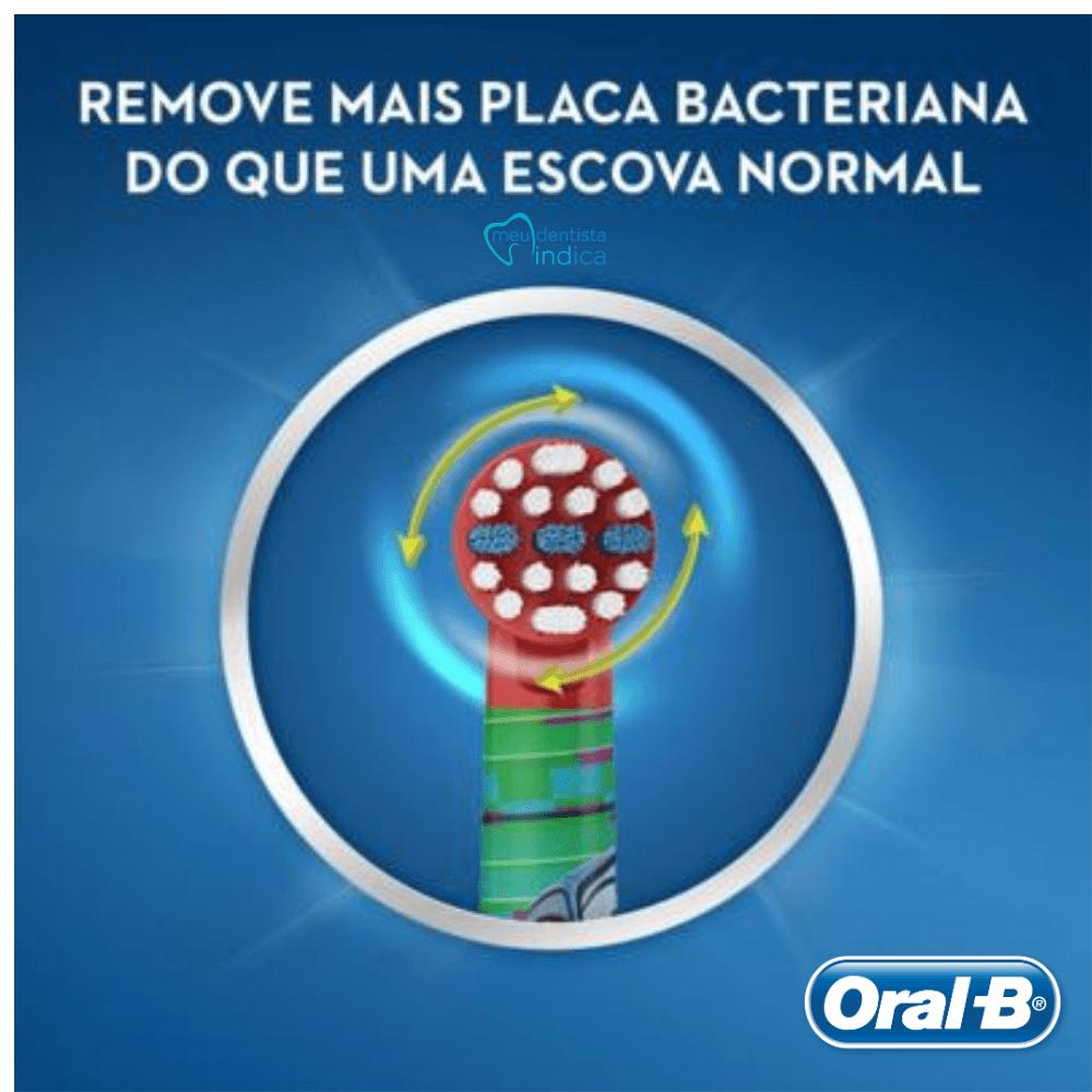 Refil Escova Elétrica Infantil Oral-B Carros (2UN)