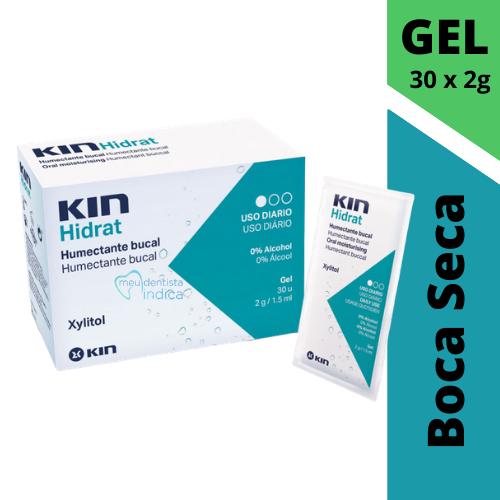 Saliva Artificial - KIN Hidrat Gel - 30 Sachês