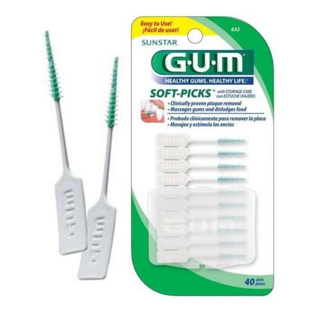 Soft-Picks GUM  (40 un)