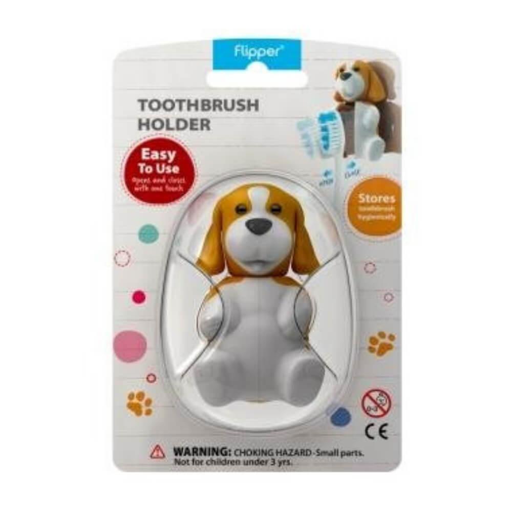 Suporte e Capa Protetora de Escova Dental Animais