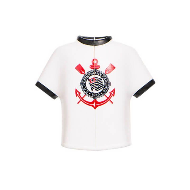 Suporte e Capa Protetora de Escova Dental TIME - Camisa Corinthians