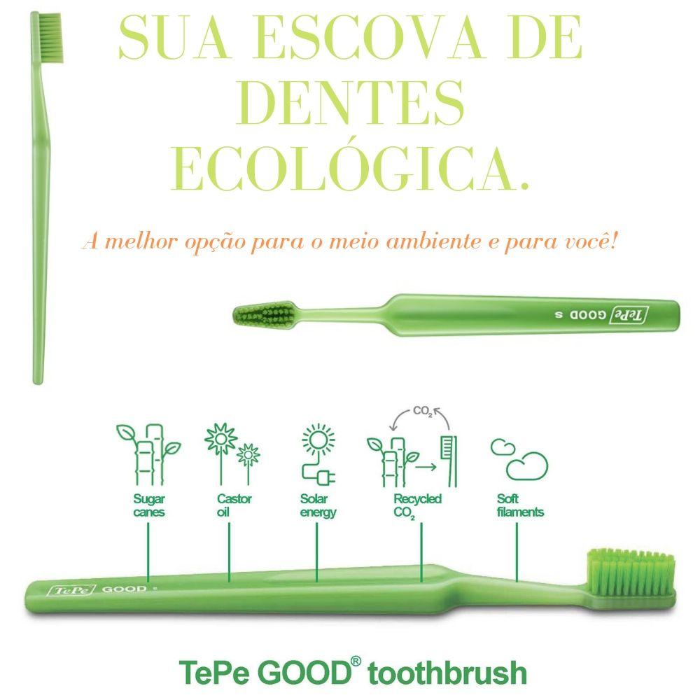 KIT: 6 Escovas Tepe GOOD Regular - Ecológica