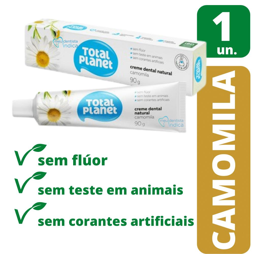 Creme Dental Natural Camomila 90g - Natural & Vegano