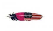 Adesivo para Chapéu Pena USA