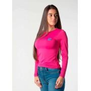 Baby Look Feminina TXC Brand X- Sweat Pink 4601