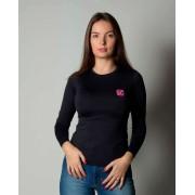 Baby Look Feminina TXC Brand  X- Sweat Preto 4600