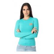 Baby Look Feminina TXC Brand  X- Sweat Verde 4481
