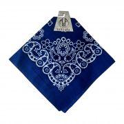 Bandana Importada Western M&f Azul