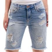 Bermuda Jeans Feminina Escaramuça Aladim Superdestroyer