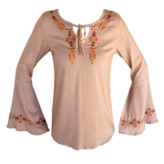 Blusa Feminina Minuty Country Bordada 273