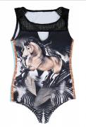 Body Feminino Minuty Cavalo 9196