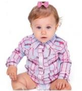 Body Infantil Zenz Western Vegas Baby Girl ZW0221037