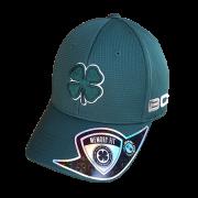 Boné Importado Black Clover Verde Logo Verde