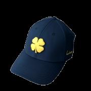 Boné Importado Black Clover Azul Marinho Logo amarelo