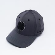 Boné Importado Black Clover Cinza Logo Preto