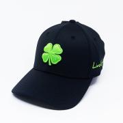 Boné Importado Black Clover Preto Logo Verde #51