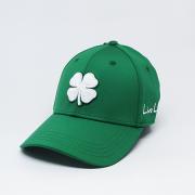 Boné Importado Black Clover Verde Logo Branco #58