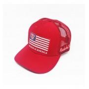 Boné Radade Vermelho USA