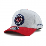Boné Tuff Necker Cinza/Vermelho CAP-2225