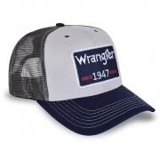Boné Wrangler Marinho e Cinza WMC337