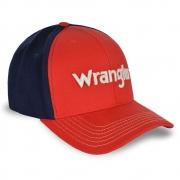 Boné Wrangler Vermelho e Marinho WMC336