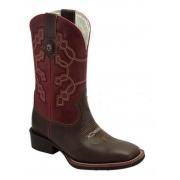 Bota Masculina Texas Boots Tabaco/Foosíl Vermelho T103LQBO