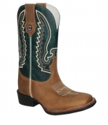 Bota Masculina Texas Rodeo Crazy Tabaco/Fossil Verde TR260