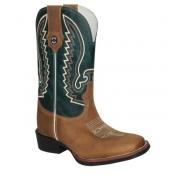 Bota Texas Rodeo Crazy Tabaco/Fossil Verde TR260