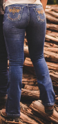 Calça Jeans Feminina Boot Cut Premium Selvagem Country 1253