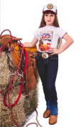 Calça Jeans Feminina Infantil Madri 1267 Selvagem Country