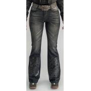Calça Jeans Feminina Miss Country Turmalina Preta