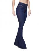 Calça Jeans Feminina TXC Brand Flare Dark