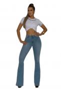 Calça Jeans Feminina TXC Brand Flare Soft